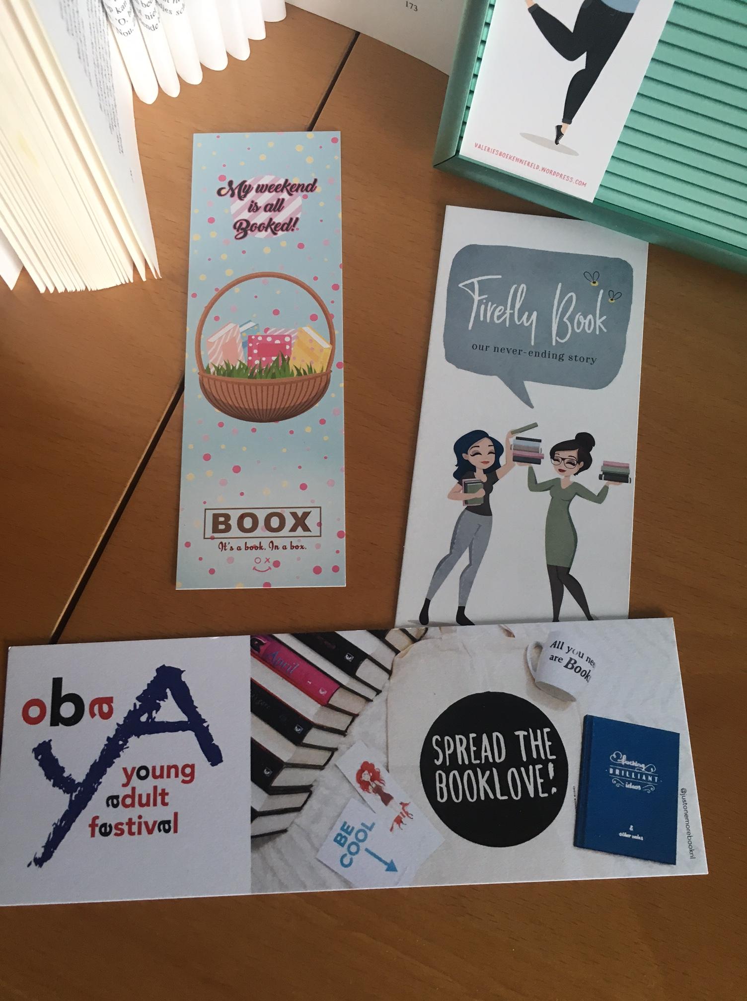 Boox april boekenleggers