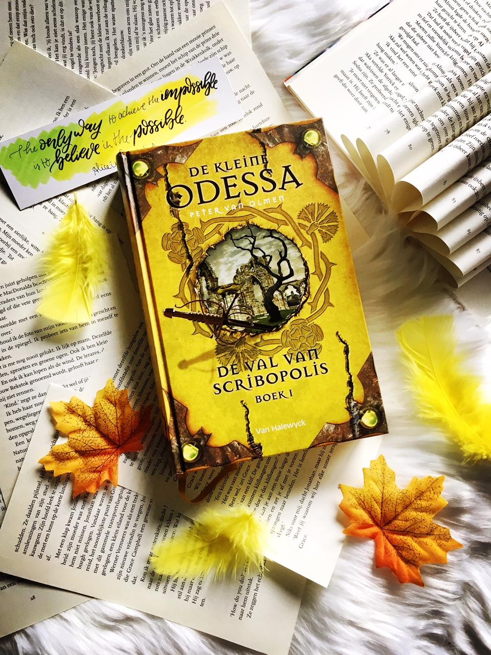 De Kleine Odessa #3 – De val van Scribopolis boek 1 – Peter VanOlmen