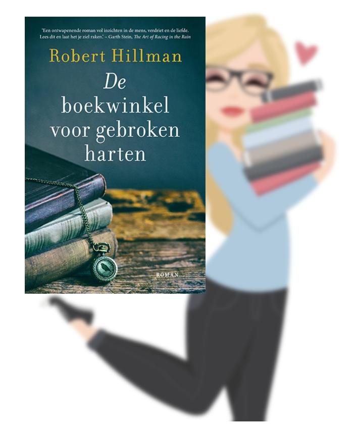 De boekwinkel voor gebroken harten – Robert Hillman(Lisa)